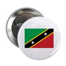 "St. Kitts and Nevis Flag 2.25"" Button"