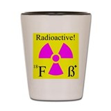 Cute Nuclear technology Shot Glass
