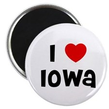 "I * Iowa 2.25"" Magnet (10 pack)"
