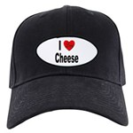 I Love Cheese Black Cap