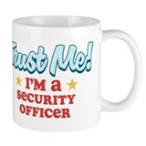 Trust Me Security Officer Small Mugs