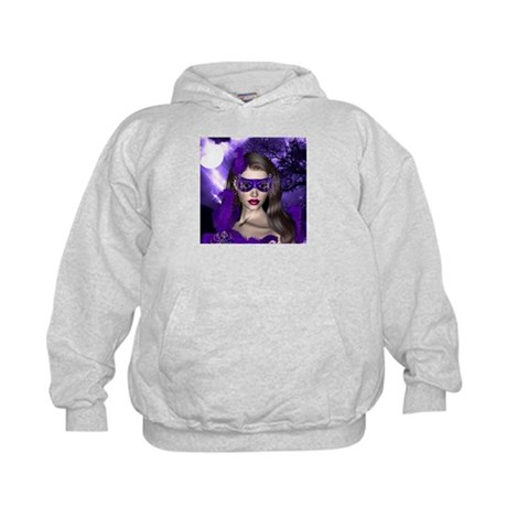 Moonlight Masquerade - Tanzanite Kids Hoodie