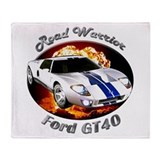 Ford GT40 Throw Blanket