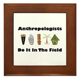 Anthropologists Framed Tile