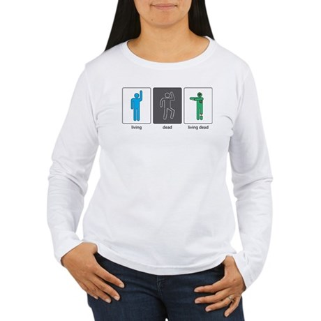 The Three Stages of Life Women's Long Sleeve T-Shi