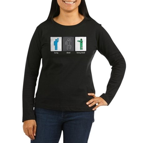 The Three Stages of Life Women's Long Sleeve Dark