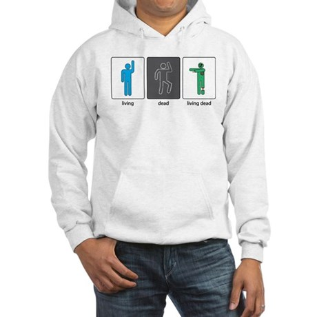 The Three Stages of Life Hooded Sweatshirt