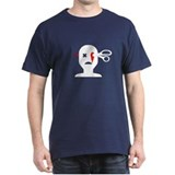 scissors eye Black T-Shirt