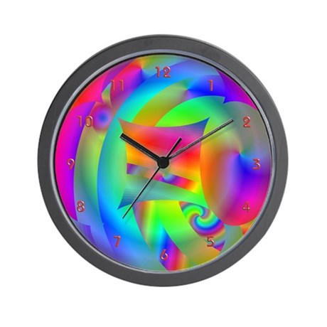 Sun Dazed Cool Clocks Wall Clock By Cosmeticplastic