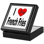 I Love French Fries Keepsake Box