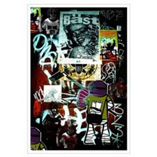 """Tribeca Street Art w/ Urban59 Tag"" 23x32"""