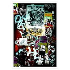"""""""Tribeca Street Art w/ Urban59 Tag"""" 23x32"""""""