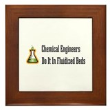 Chemical Engineers Framed Tile
