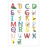 Unique Alphabet Wall Art