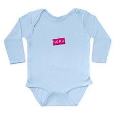 Nora Punchtape Long Sleeve Infant Bodysuit