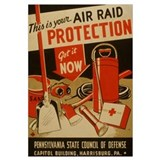 AIR RAID PROTECTION 16x20