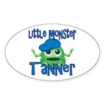 Little Monster Tanner Sticker (Oval)