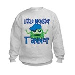 Little Monster Tanner Kids Sweatshirt