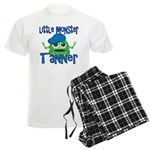 Little Monster Tanner Men's Light Pajamas