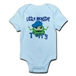 Little Monster Terry Infant Bodysuit