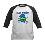 Little Monster Terry Kids Baseball Jersey