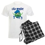 Little Monster Terry Men's Light Pajamas