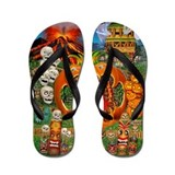FREAKY TIKI Flip Flops