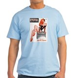 Eyeful Sitting Redhead Beauty Pin Up T-Shirt