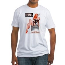 Eyeful Sitting Redhead Beauty Pin Up Shirt