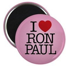 I Love Ron Paul Magnet