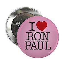 "I Love Ron Paul 2.25"" Button"