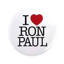 "I Love Ron Paul 3.5"" Button"