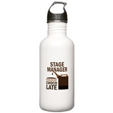 Stage Manager Gift (Funny) Water Bottle