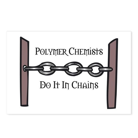 Polymer Chemists Postcards (Package of 8)