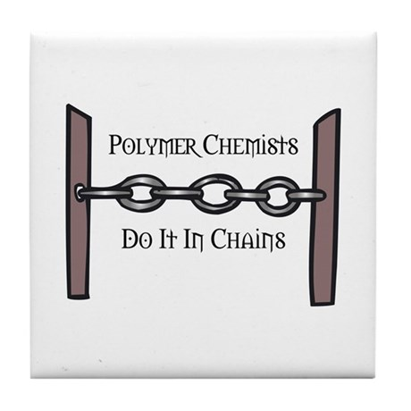 Polymer Chemists Tile Coaster