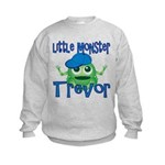 Little Monster Trevor Kids Sweatshirt