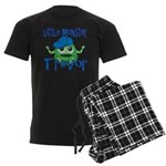 Little Monster Trevor Men's Dark Pajamas