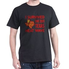 I Survived 2011 Texas Heat T-Shirt
