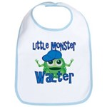 Little Monster Walter Bib