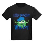 Little Monster Walter Kids Dark T-Shirt