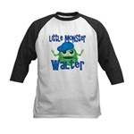 Little Monster Walter Kids Baseball Jersey