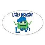 Little Monster Levi Sticker (Oval)