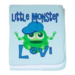 Little Monster Levi baby blanket
