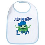 Little Monster Levi Bib