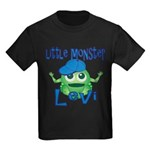 Little Monster Levi Kids Dark T-Shirt