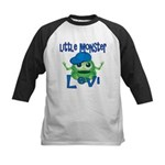 Little Monster Levi Kids Baseball Jersey