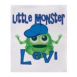 Little Monster Levi Throw Blanket