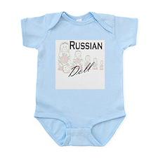Russian Doll Infant Creeper