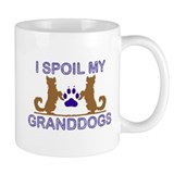 I Spoil My GrandDogs Small Mugs