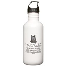 Protect Wolves Sports Water Bottle
